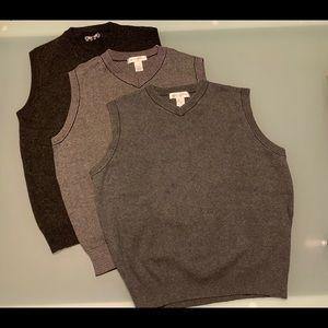 $13 for 3 x Men's Wool/Cotton Vests
